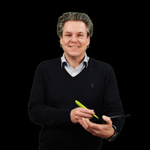 Mark de Groot, Adviseur bij WARP Systems