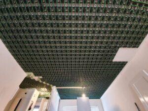 Verwarming in plafond plaatsen