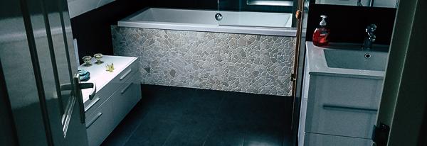 Vloerverwarming bovenverdieping badkamer