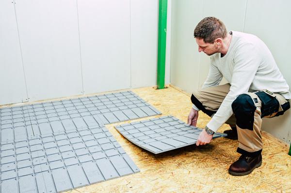 vloerverwarming houten ondervloer