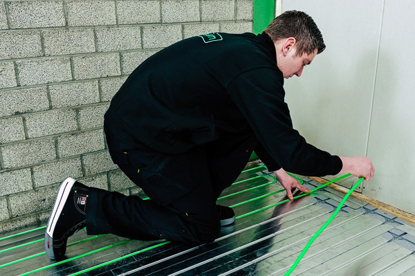 speetherm vloerverwarming renovatie zonder breken