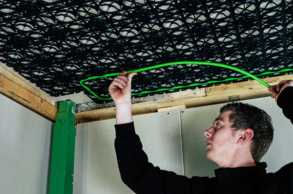 speetile vloerverwarming renovatie zonder breken